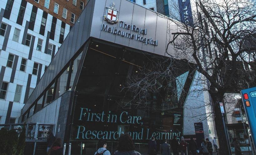 Royal Melbourne Hospital exterior