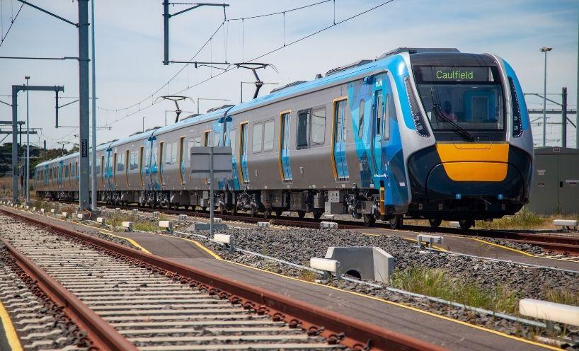 PTV train to Caulfield